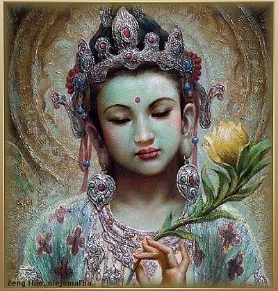 guan yin - bohyňa milosrdenstva