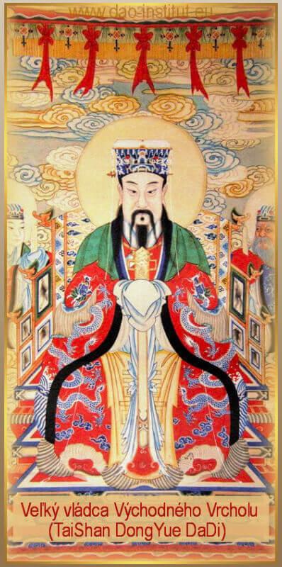 Veľký vládca východného vrcholu - Tai Shan DongYue DaDi