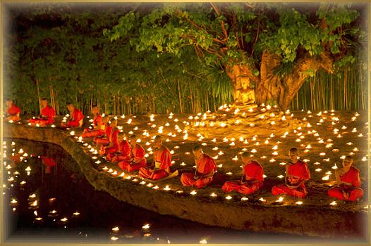deň buddhu - VESAK