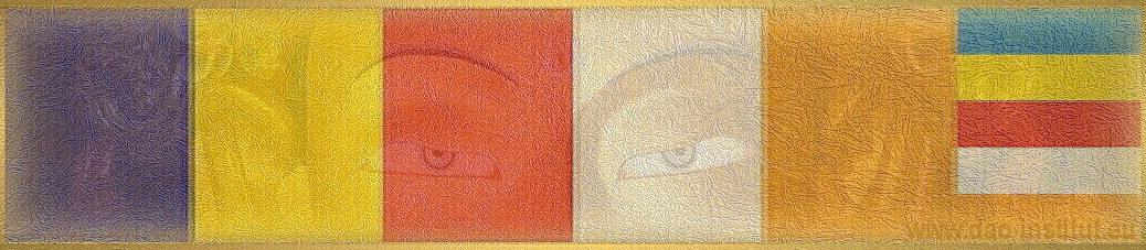 medzinárodná vlajka buddhistov-buddhist flag
