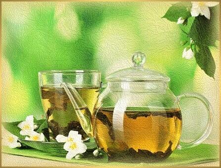 začiatok leta li xia - zelený čaj