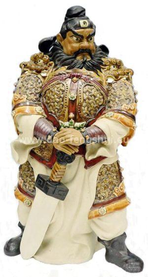 Zhong-Kui-bojovnik s démonmi a zlom