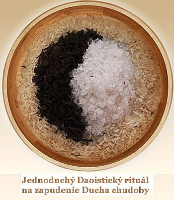 daoistický rituál na zapudenie ducha chudoby