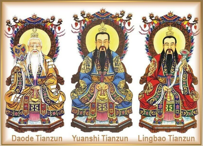 taoizmus-tri-čistoty-San-Qing