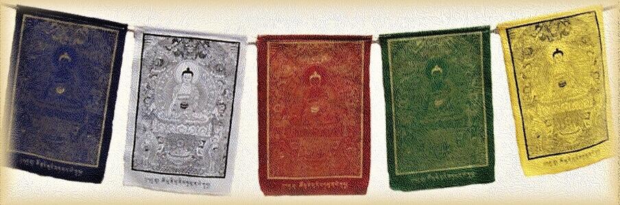 tibetske modlitebne vlajky-