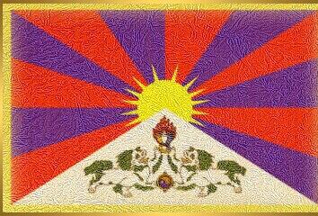 tibetská národná vlajka-tibet