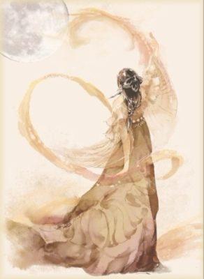 bohyňa mesiaca heng-e